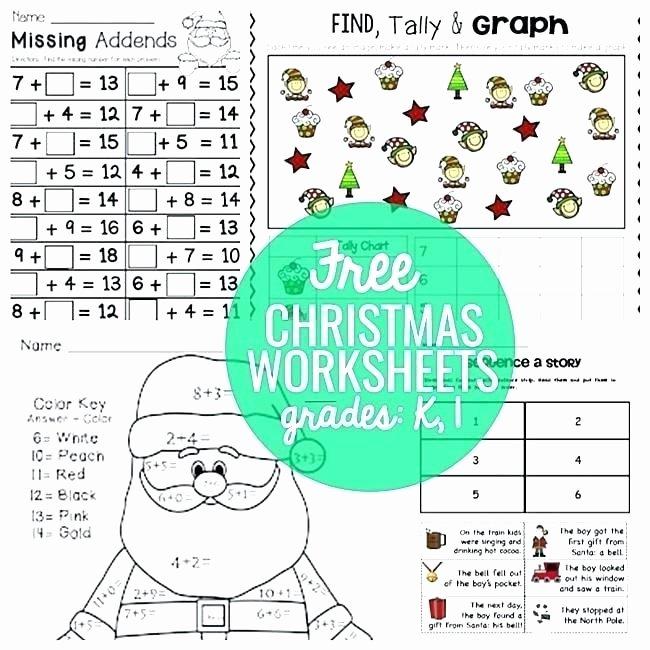Free Printable Kindergarten Fluency Passages Christmas Worksheets for 2nd Grade – Vitalmethod