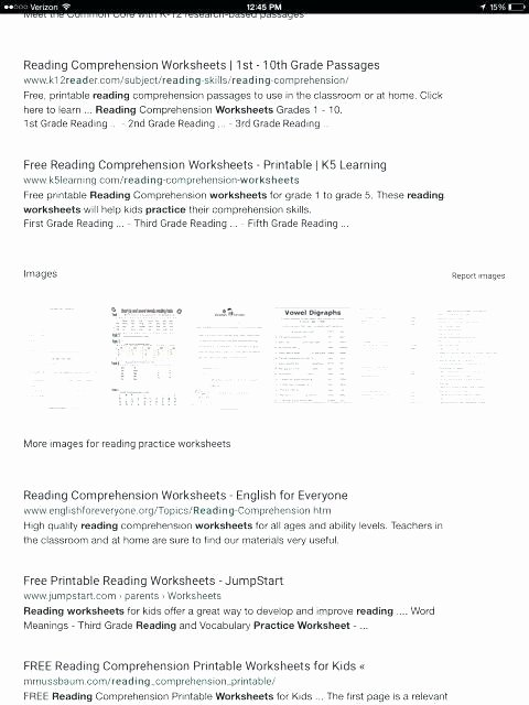 Free Printable Kindergarten Fluency Passages Free Printable Reading Hension Worksheets for First Grade