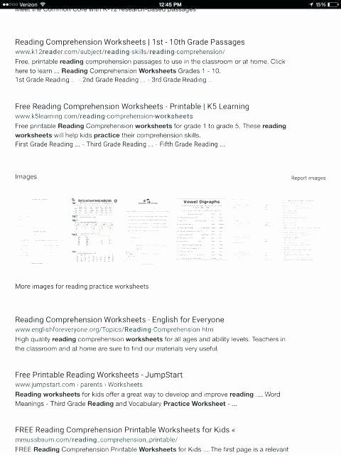 Free Printable Kindergarten Fluency Passages Free Printable Reading Hension Worksheets for First Grade