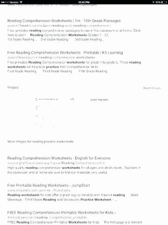 Free Printable Kindergarten Fluency Passages Reading Worksheets Prehension Free for Beginning Readers