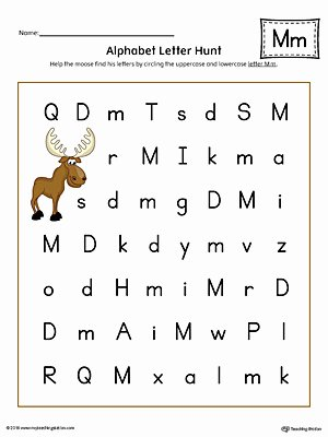 Free Printable Letter M Worksheets Alphabet Letter Hunt Letter M Worksheet Color