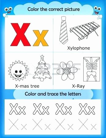 Free Printable Letter M Worksheets Letter X Worksheets for Kindergarten Alphabet Learning