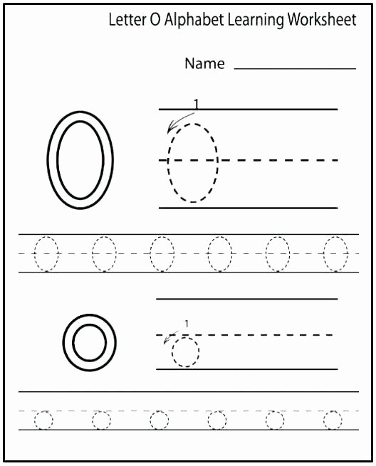 Free Printable Letter P Worksheets Letter O Worksheets for Kindergarten Printable Alphabet