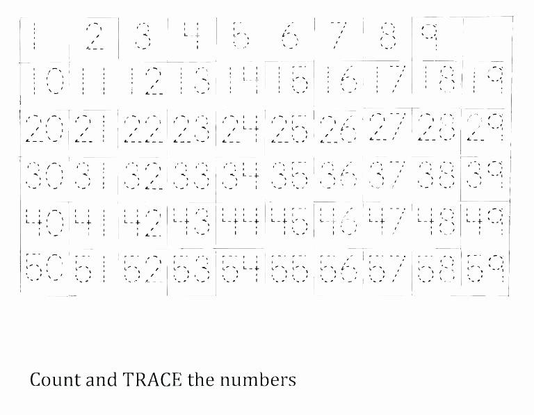 Free Printable Number Tracing Worksheets Free Printable Name Tracing Worksheets Blank Tracing