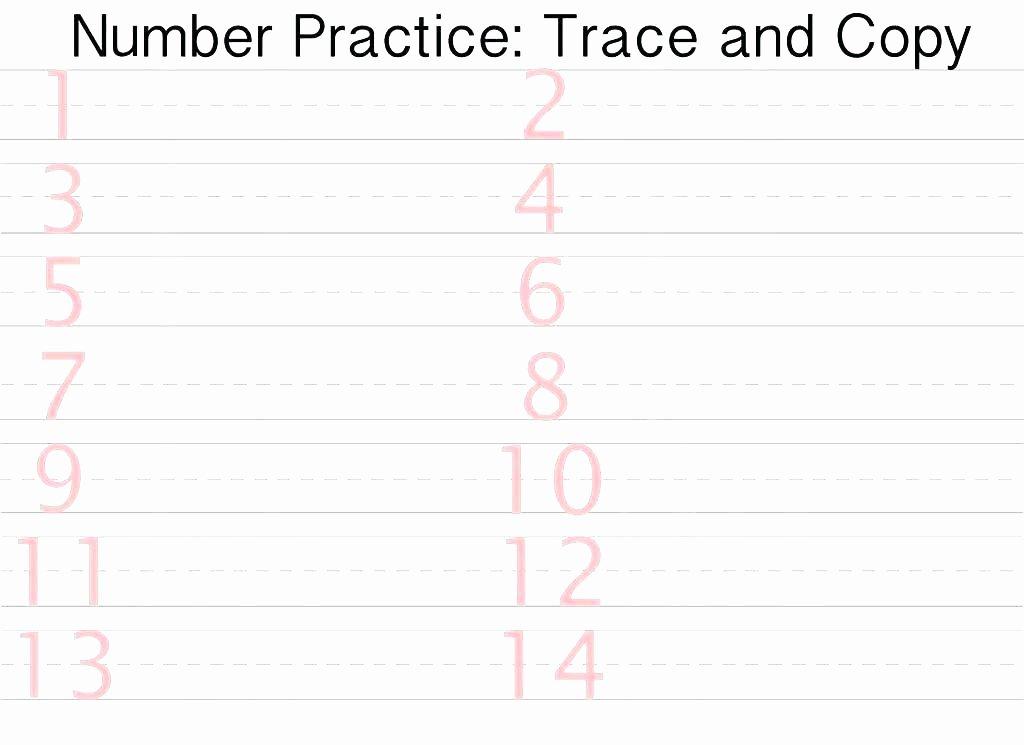 Free Printable Number Tracing Worksheets Free Printable Name Tracing Worksheets Free Printable Number