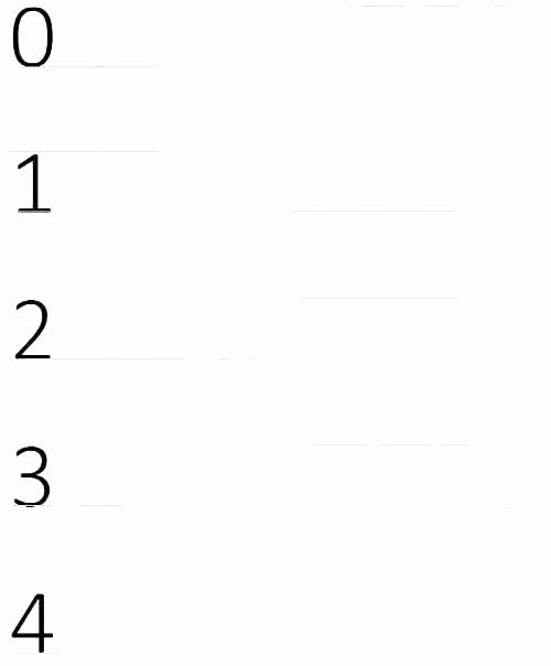 Free Printable Number Tracing Worksheets Printable Number Tracing Worksheets for Kindergarten Free