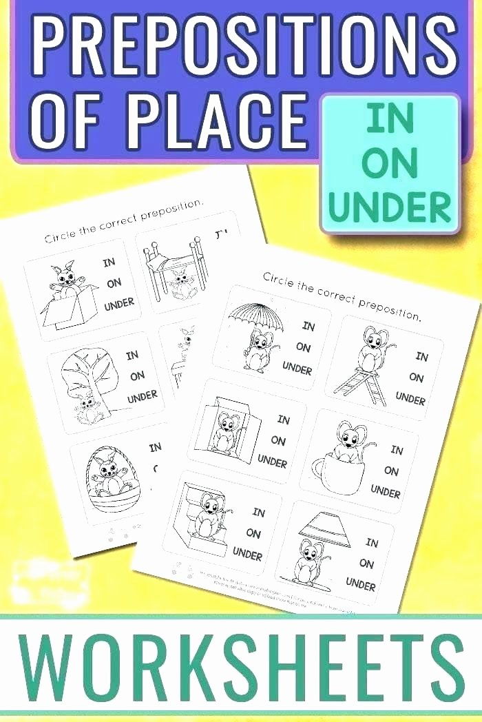 Free Printable Preposition Worksheets Adverbs and Prepositions Worksheets