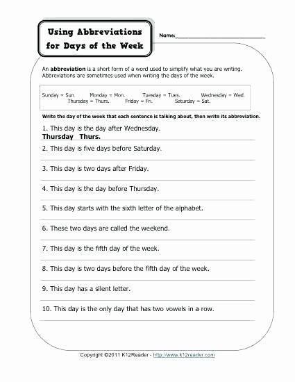 Free Printable Punctuation Worksheets Colons and Time Free Printable Punctuation Worksheets Using