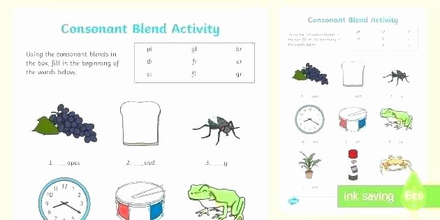 Free Printable R Blends Worksheets Phonics Blends Worksheets Free