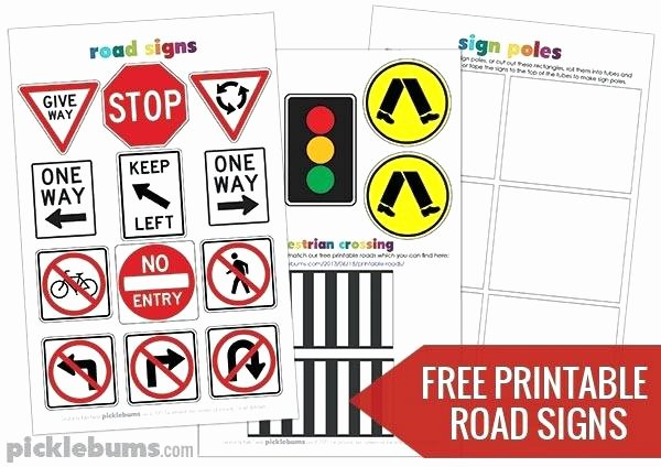 Free Printable Safety Signs Worksheets Awesome Safety Signs Worksheets Printable Traffic Coloring Pages
