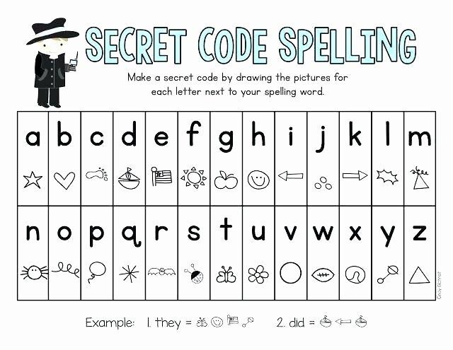Free Printable Secret Code Worksheets Beautiful Coding Worksheets