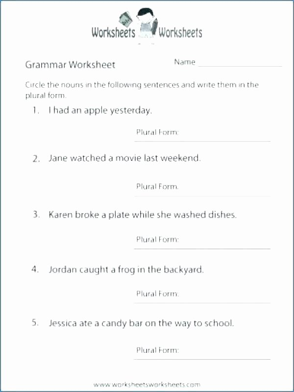 Free Printable Sentence Structure Worksheets Free Worksheets Library Download and Print Sentence