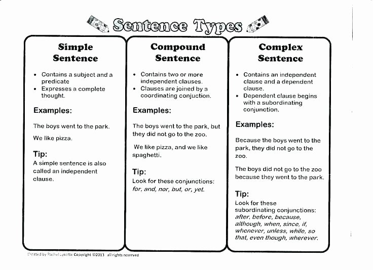 Free Printable Sentence Structure Worksheets Sentences Structure Worksheets – Petpage