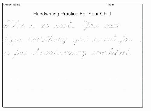 Free Printable Sentence Writing Worksheets D Nealian Cursive Worksheets