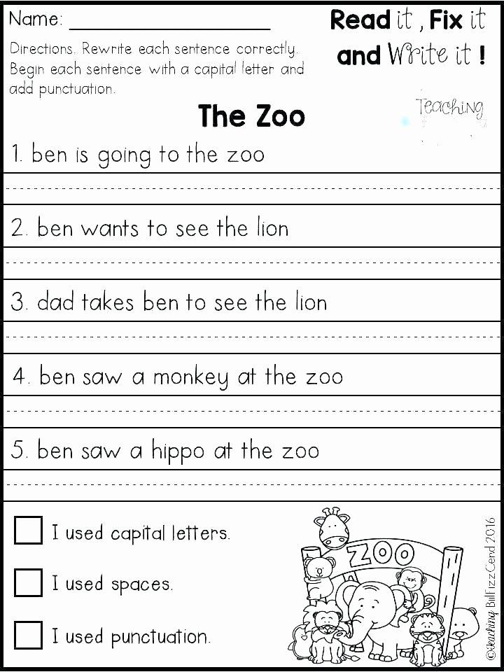 Free Printable Sentence Writing Worksheets Free Descriptive Writing Worksheets