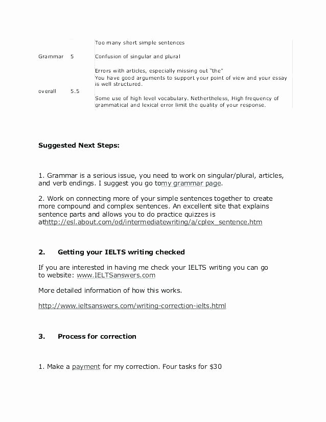 Free Printable Sentence Writing Worksheets Grammar Editing Practice Worksheets