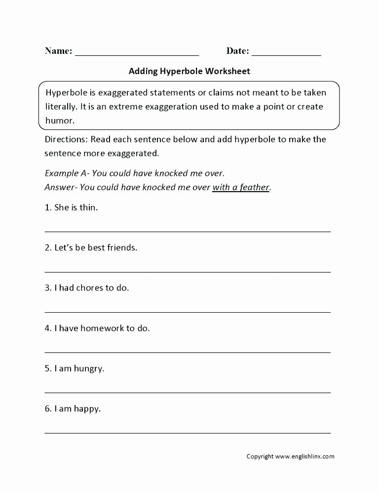 Free Printable Simile Worksheets Free Printable Metaphor Warm Up Activity for More