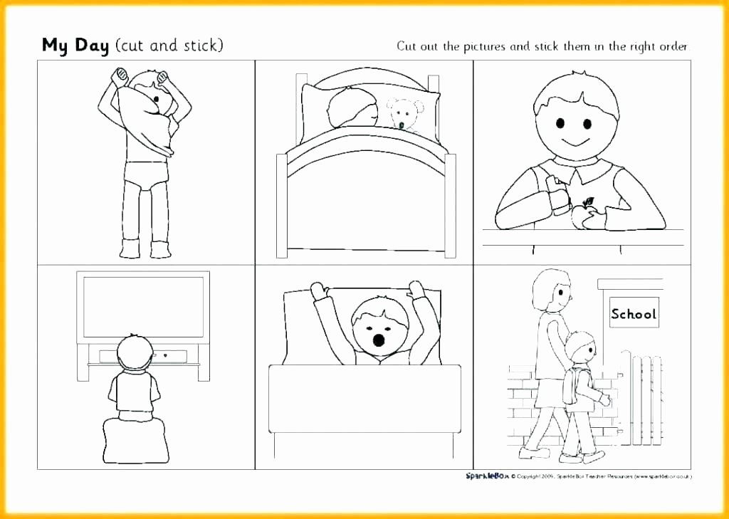 Free Printable Story Sequencing Worksheets Grade 3 Learners Module Sequencing events Worksheets for 1