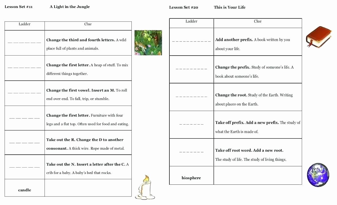 Free Printable Word Ladders Grammar Practice Worksheets High School for All Free Word