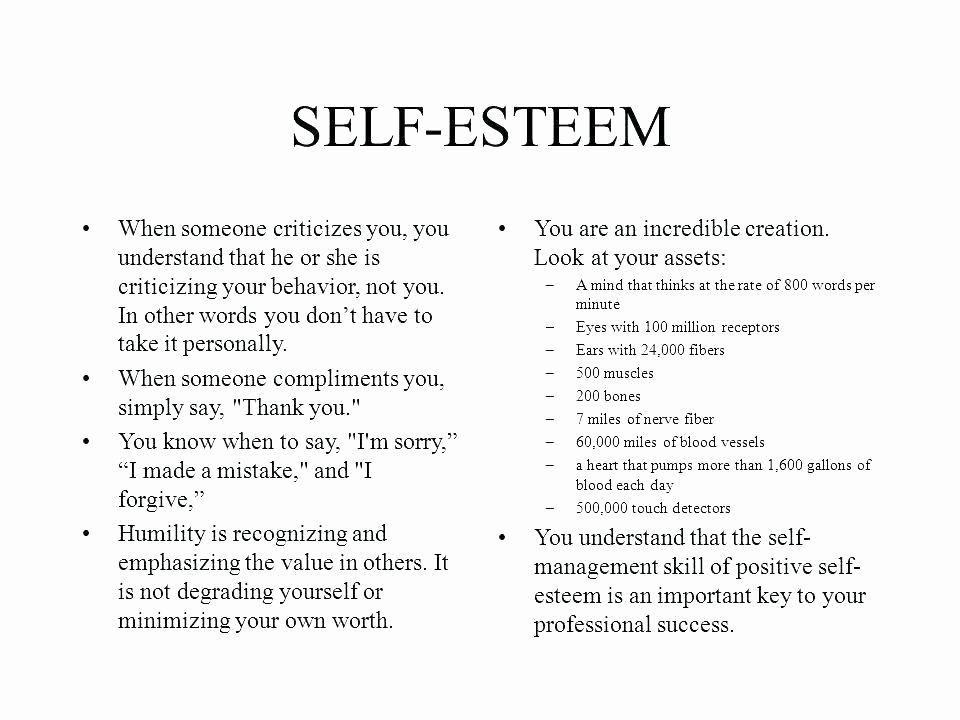 Free Self Esteem Worksheets Self Esteem Printable Worksheets for Kids