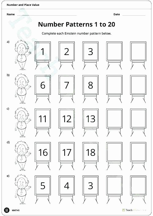 Free Sequencing Worksheets Free Number Sequence Worksheets