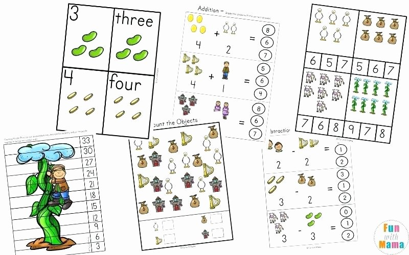Free Sequencing Worksheets Worksheets Jack and the Beanstalk Sequencing Worksheets