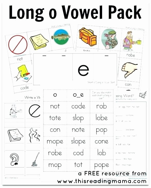 Free Silent E Worksheets Long Vowel Silent E Worksheets for Word Work Differentiated