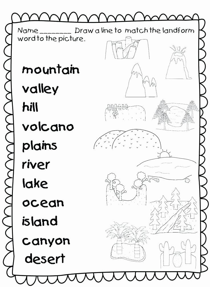 Free Volcano Worksheets soil Worksheets Free soil Worksheets for 2nd Grade