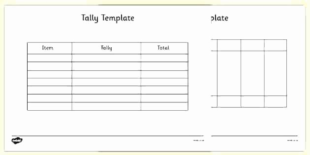 Frequency Table Worksheets 3rd Grade Tally Chart and Frequency Table Worksheets