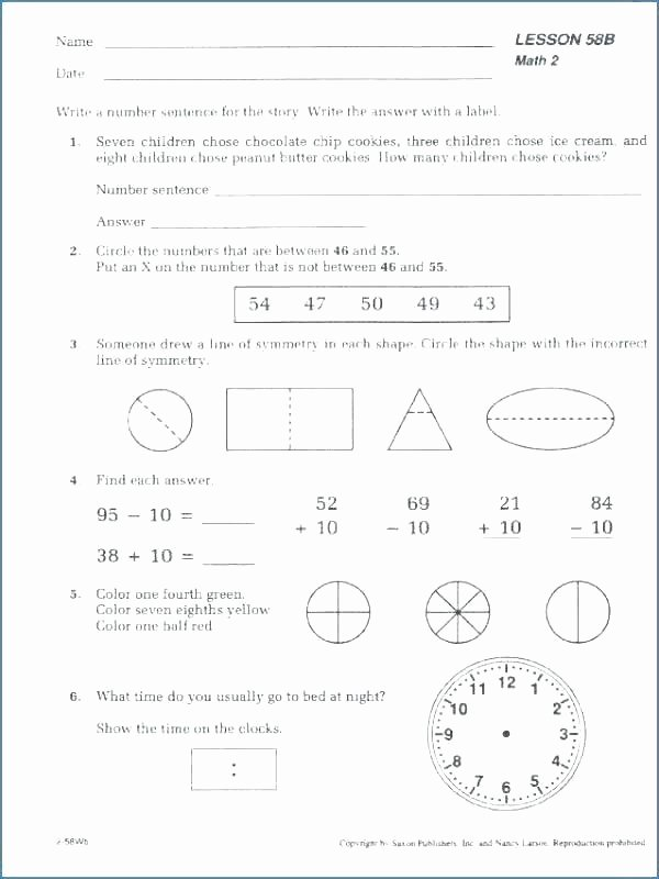 Friendly Numbers Worksheet Best Of 5th Grade Algebra Worksheets Grade Algebra Worksheets