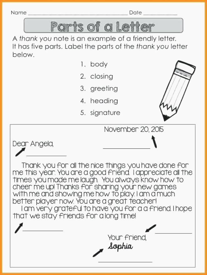 Friendly Numbers Worksheet New 10 Friendly Letter Worksheet