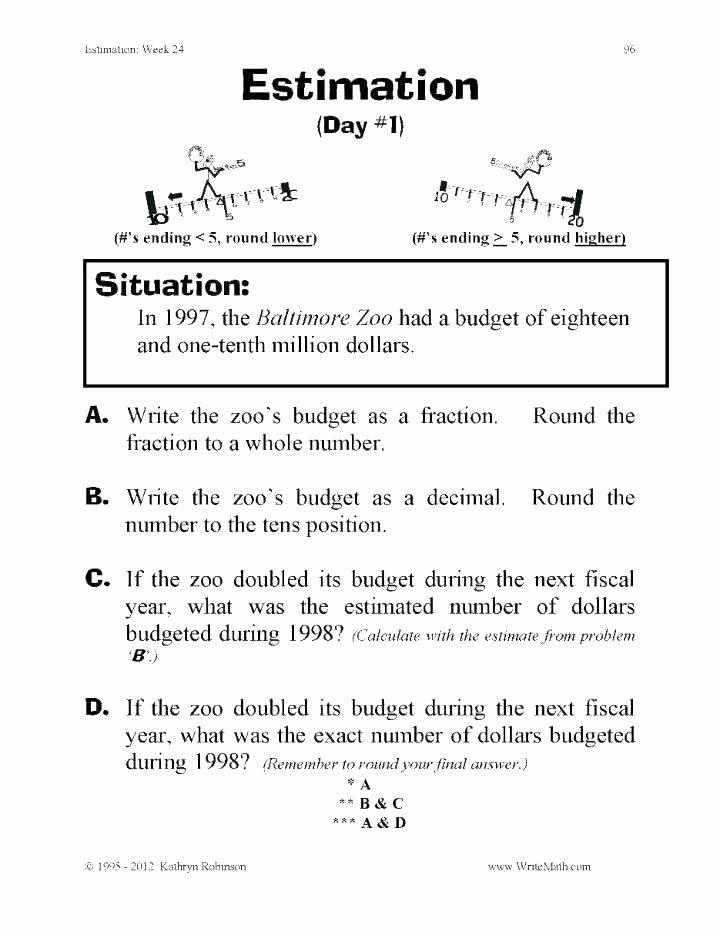 estimation worksheets grade estimation worksheets estimation worksheets grade estimating division worksheets estimating division worksheets 5th grade