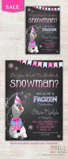 Frozen Birthday Invitations Online Free 19 Best Frozen Birthday Invitations Images In 2014