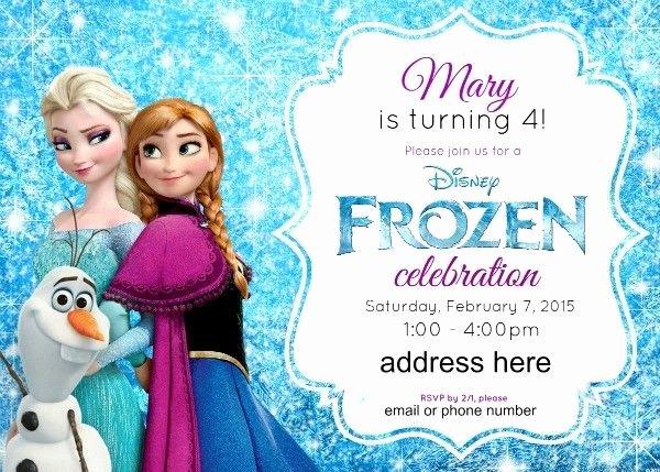 Frozen Birthday Invitations Online Free Disney S Frozen Birthday Party Ideas Pink Purple Blue