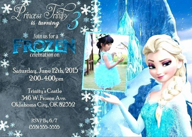 Frozen Birthday Invitations Online Free Frozen Party Invite Wording – Cakeandmore