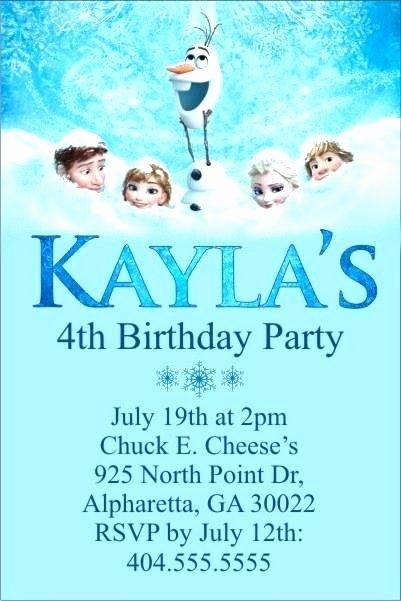 Frozen Birthday Invitations Online Free Printable Frozen Birthday Cards – Destinationeu