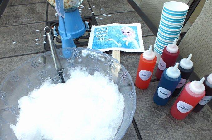 Frozen Birthday Invitations Online Frozen Homemade Snow Cones Two Sisters