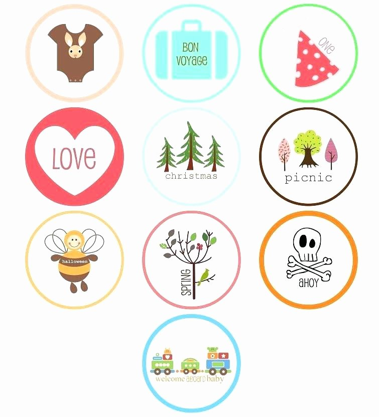 Frozen Cake toppers Printable Cupcakes Cupcake topper Template 8 Free Printable toppers