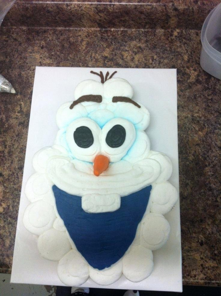 Frozen Cake toppers Printable Frozen Cake Ideas Olaf Cake Template Olaf Cake Template