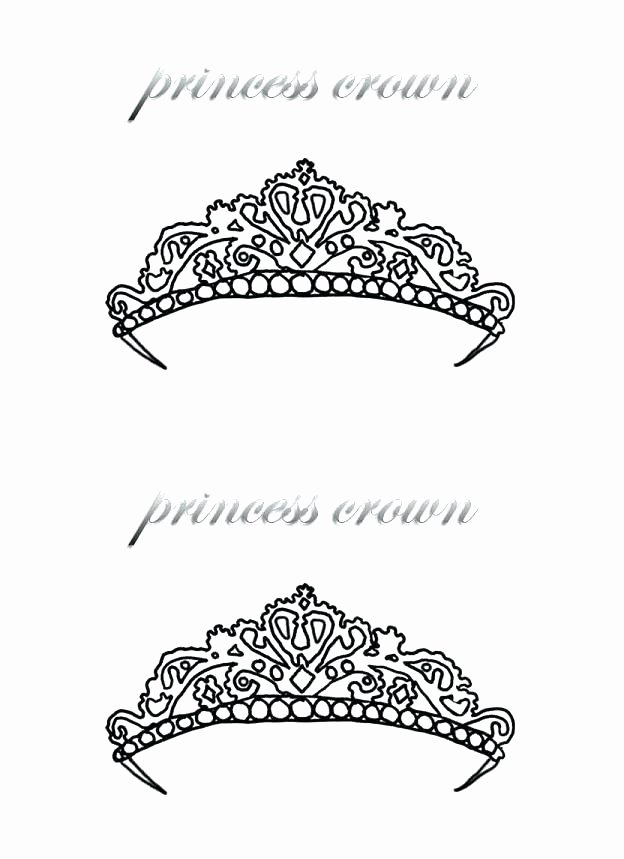 Frozen Cake toppers Printable Paper Crown Template Printable Princess Powerful Print