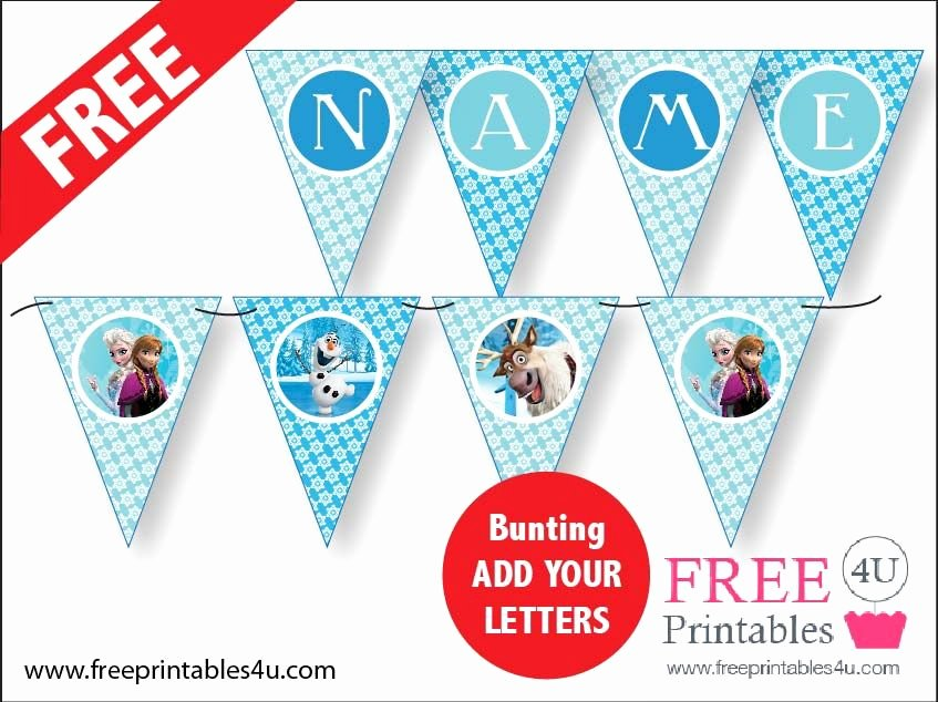 Frozen Cake toppers Printable Pin On A Print A Day