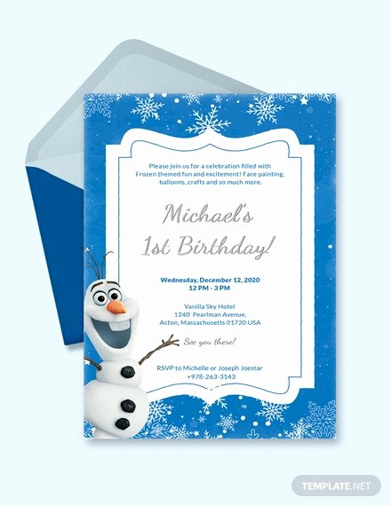 Frozen Printable Birthday Invitations Free 72 Birthday Invitation Designs & Examples In Psd