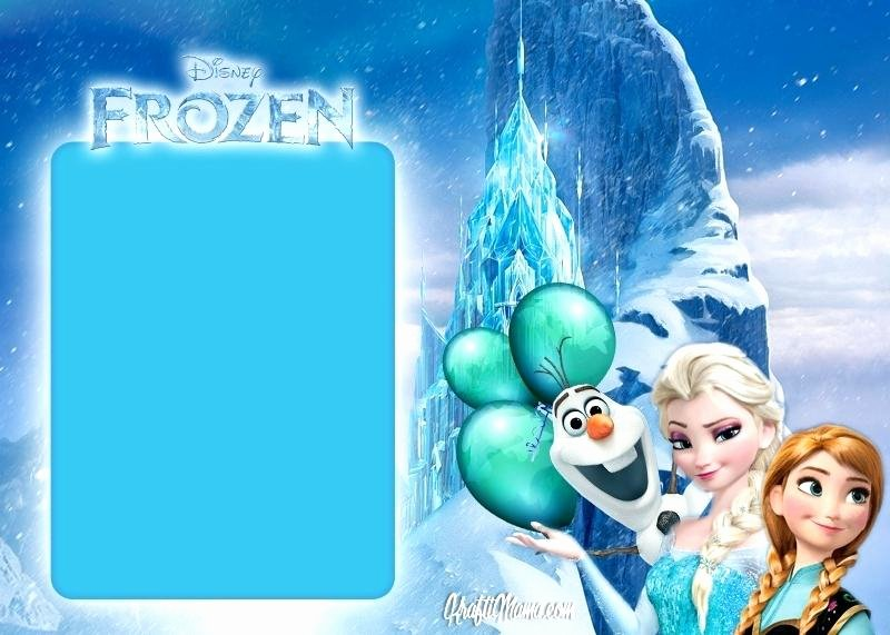 Frozen Printable Invitation Download Frozen for Girls Invitation Template Boys Free