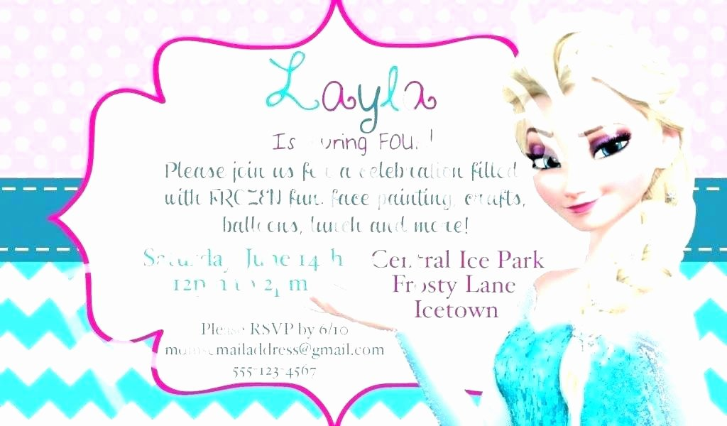 Frozen Printable Invitation Free Barbie Invitation Templates Birthday Invitations Frozen