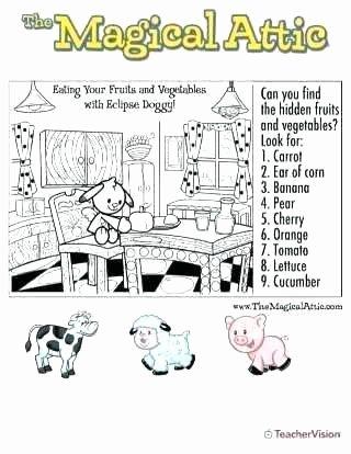 Fruits and Vegetables Worksheet Gym Worksheets for Students
