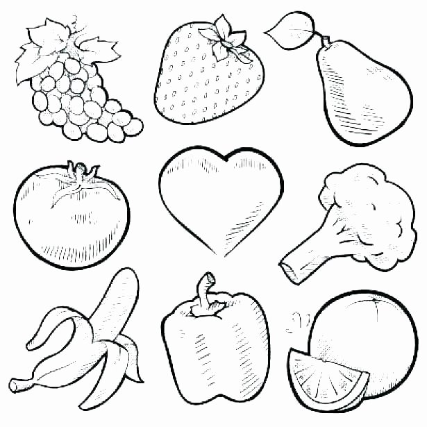 Fruits and Vegetables Worksheets Coloring Pages Citrus Fruit Album Sabadaphnecottage
