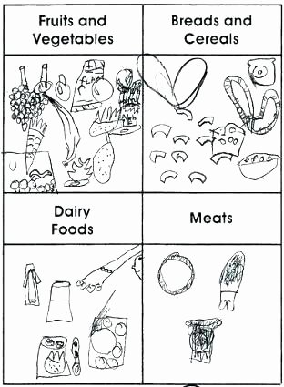 Fruits and Vegetables Worksheets Food Worksheets for Grade 2