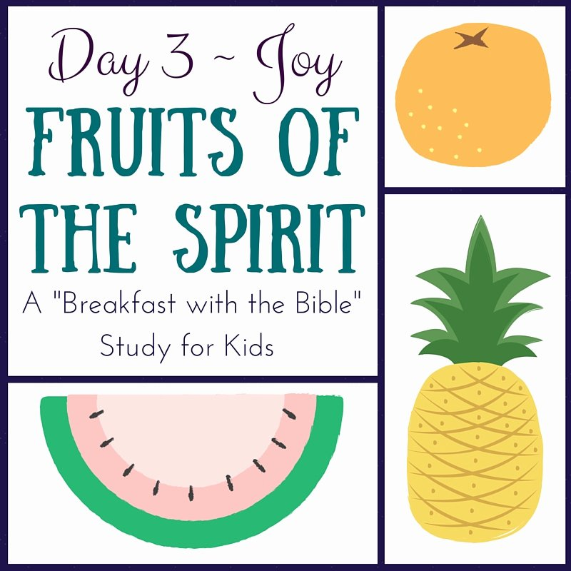 Fruits Of the Spirit Worksheets Bible Study On Joy Fruit Of the Spirit