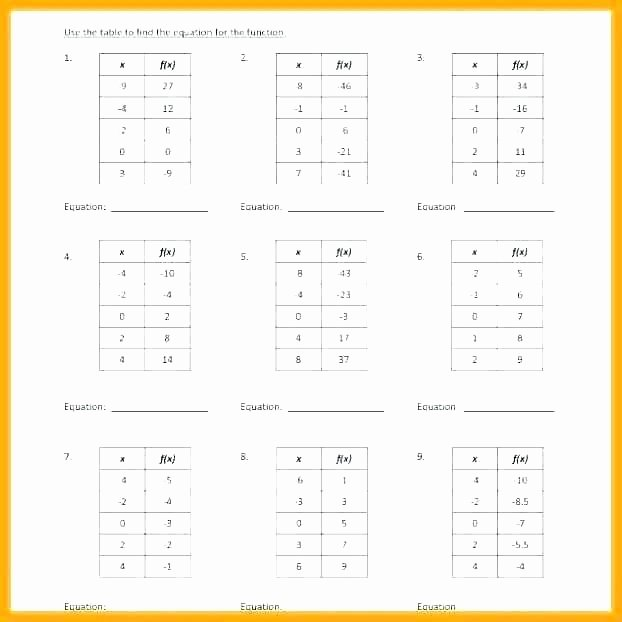 Function Table Word Problems New Functions Worksheet – Csdmultimediaservice