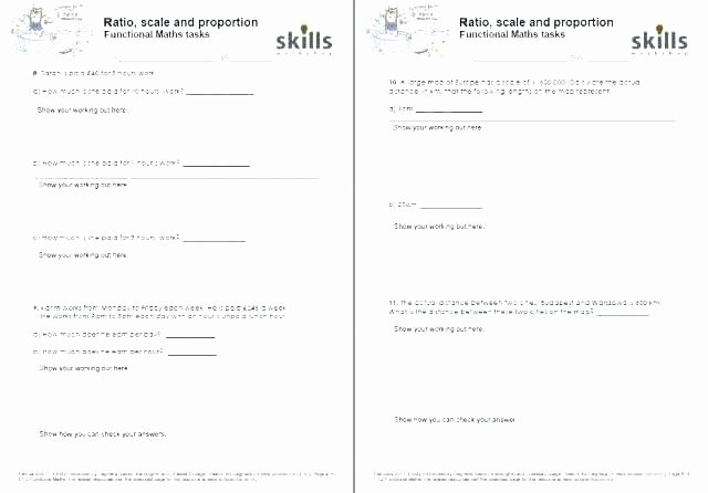 Functional Maths Worksheets Functional Maths Worksheets
